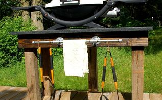 grill station tutorial , how to, outdoor furniture, outdoor living