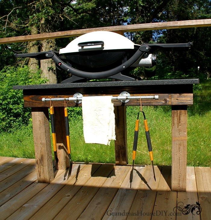 grill station tutorial hometalk. Black Bedroom Furniture Sets. Home Design Ideas