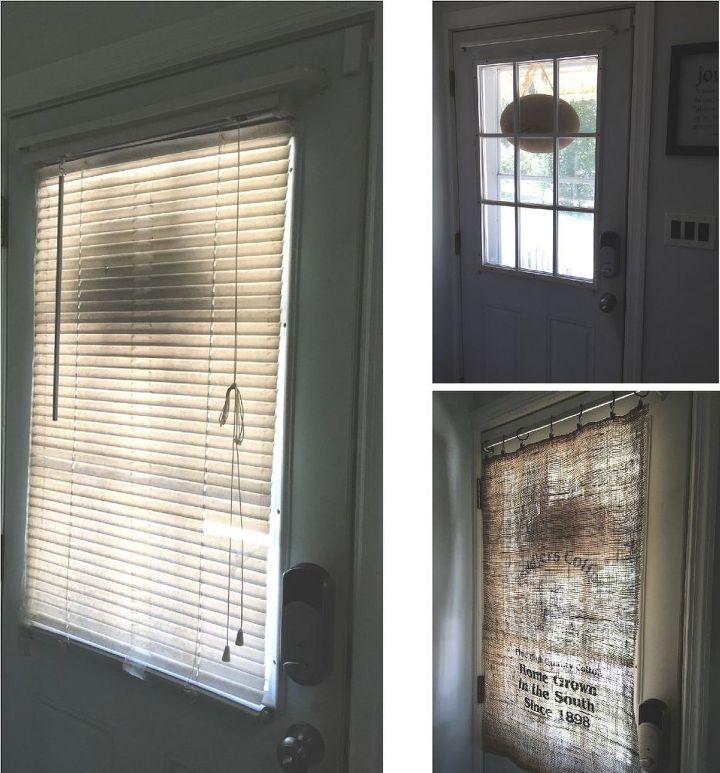 Curtains Ideas burlap sack curtains : Burlap Bag Curtain | Hometalk