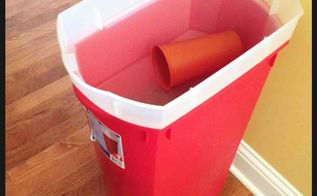 idea for a dog proof dog food container, organizing, pets, pets animals, storage ideas