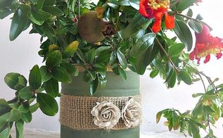 how to repurpose cans instead of being overrun by them, chalk paint, container gardening, how to, painting, repurposing upcycling