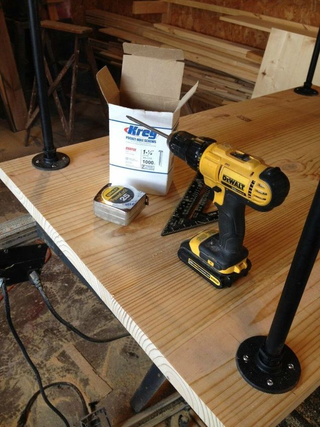 How to Build the Easiest Desk Ever  Hometalk