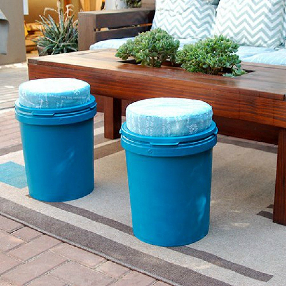 How To Spray Paint Plastic Bins