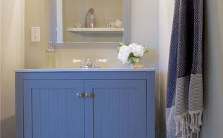 12 hour half bath reno , bathroom ideas, home improvement, 12 Hour Half Bath Reno AFTER