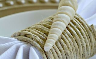 diy coastal napkin rings, crafts, repurposing upcycling