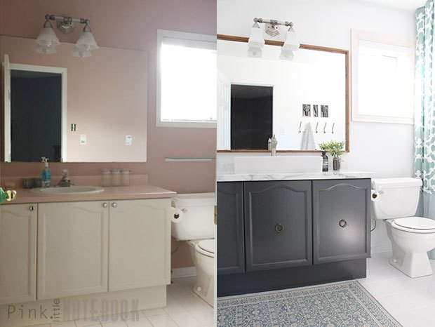Diy bathroom makeover on a budget hometalk for Bathroom ideas on a budget
