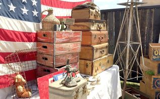junk in the trunk vintage market, home decor, repurposing upcycling