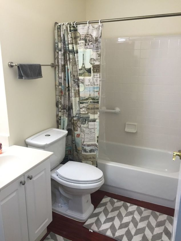 Easy diy builders grade bathroom updates hometalk for Bathroom updates