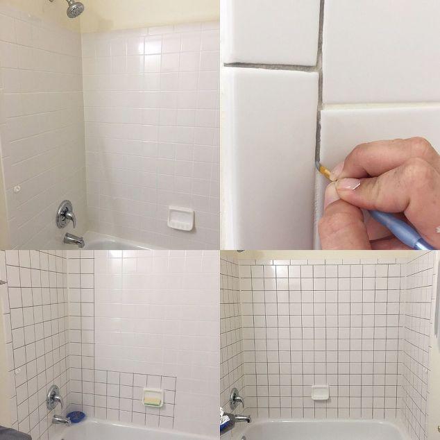 Easy DIY Builders Grade Bathroom Updates DIY CHICKS - Updating bathroom tile