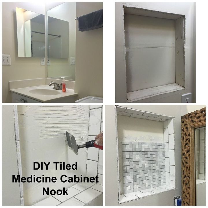 Easy diy builders grade bathroom updates hometalk for Updating bathroom ideas