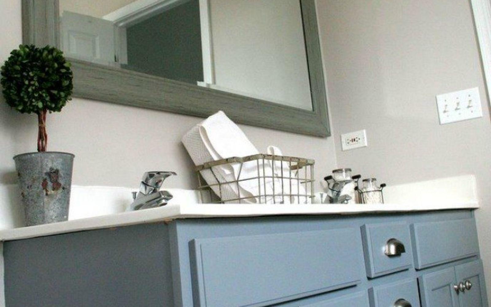 Bathroom Vanity Paint Ideas 11 ways to transform your bathroom vanity without replacing it