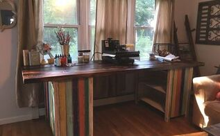pallet and staging plank workstation, how to, pallet, woodworking projects