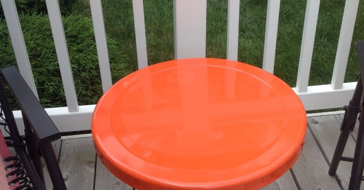 Painting A Metal Table What Kind Of Paint Should I Use