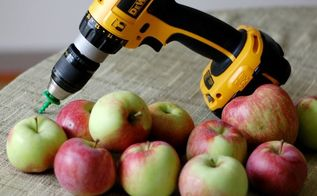 an apple peeler that peels in 10 seconds your drill , tools