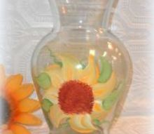 painted vases can add personality to your floral arrangements, crafts, painting