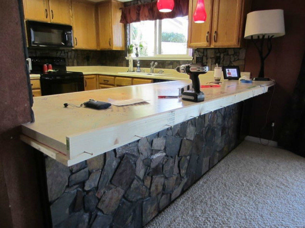 Building Your Own Kitchen Countertop