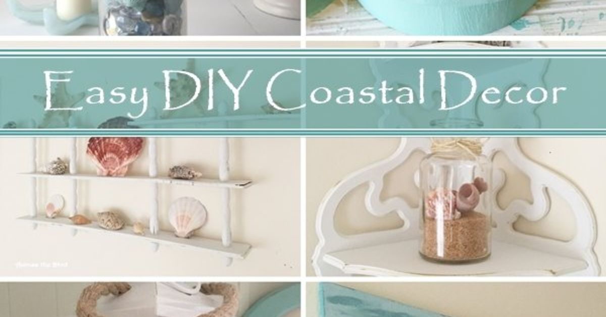 Easy DIY Repurposed Coastal Decor Hometalk