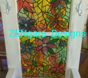 Like Magic An Old Wood Door Is Transformed Into Stained Glass , Doors, How  To