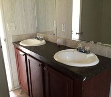 repo trashed out house redo, bathroom ideas, home improvement, kitchen design, porches