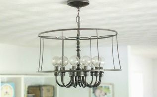modern industrial light fixture for less than 20, how to, lighting