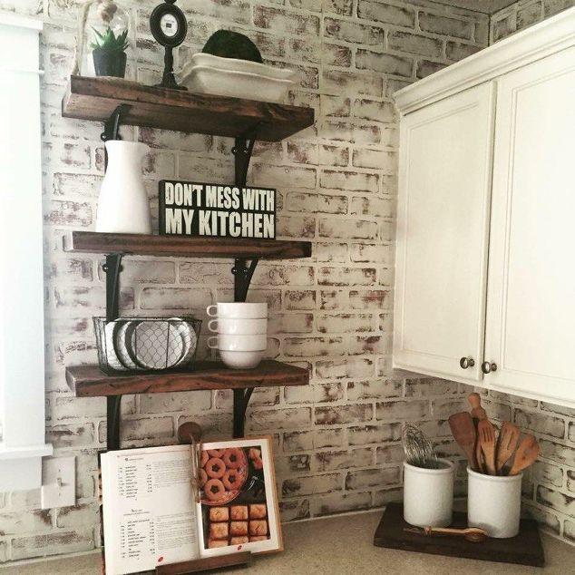 Builder basic kitchen upgrade hometalk for Basic kitchen cupboards
