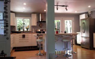 kitchen befor after, home improvement, kitchen backsplash, kitchen cabinets, kitchen design, kitchen island