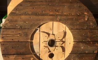 Diy Spool Clock Hometalk