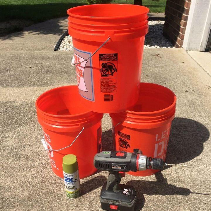 Tomato Planters From 5 Gallon Buckets