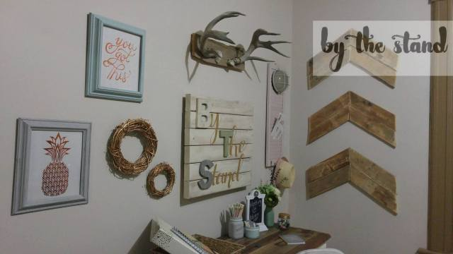 easy wall art chalk paint crafts how to wall decor. Black Bedroom Furniture Sets. Home Design Ideas