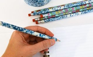 duck tape pencils, crafts, how to