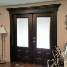 french door project, doors, home improvement, painting