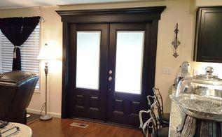 french door project, doors, home improvement, painting