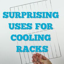 alternative uses for dollar store cooling racks, how to, organizing, repurposing upcycling, storage ideas