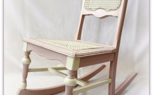 child s vintage rocking chair, chalk paint, painted furniture