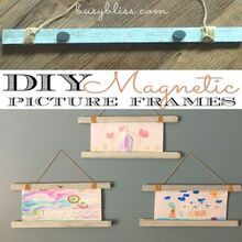 diy magnetic picture frame, crafts, how to, painting, wall decor