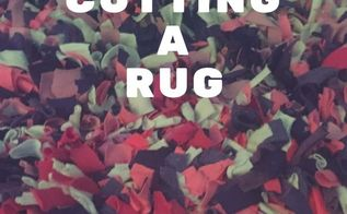 cutting a rug, crafts, how to, repurposing upcycling