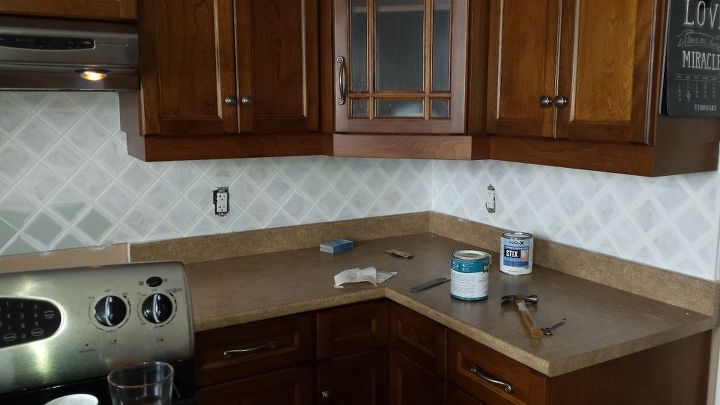 Don T Paint Ceramic Tile They Said How To Kitchen Backsplash Painting