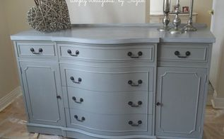 before after, painted furniture