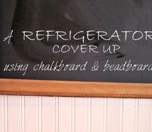 fridge makeover command center, how to, organizing, repurposing upcycling