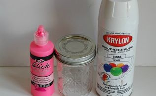 puffy paint mason jars for an awesome centerpiece , crafts, how to, mason jars, painting