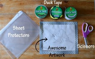 duck tape frames kid s art gallery wall, crafts, how to