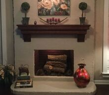q questioning our style of our mantel, fireplaces mantels, home decor, home decor dilemma