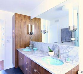 Mid Century Modern Bathroom Reno, Bathroom Ideas, Painting Cabinets