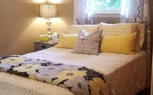 a guest bedroom budget makeover , bedroom ideas, painted furniture