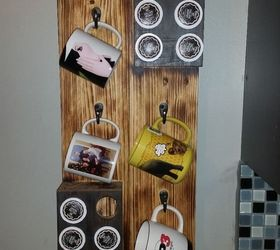 Hanging Cofee Mug And K Cup Storage, Crafts, How To, Organizing, Storage