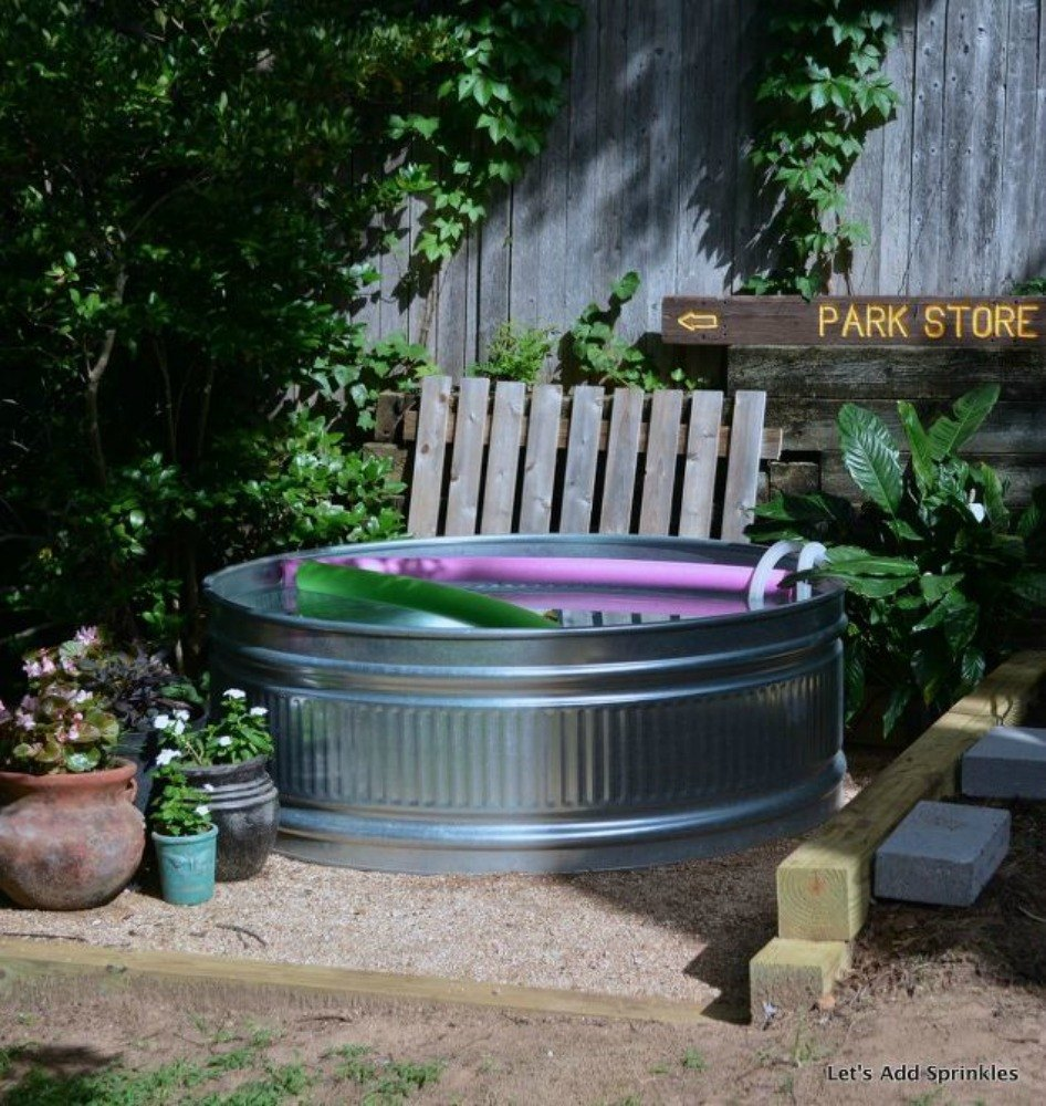 You still have time to get the backyard oasis of your for Diy small pool