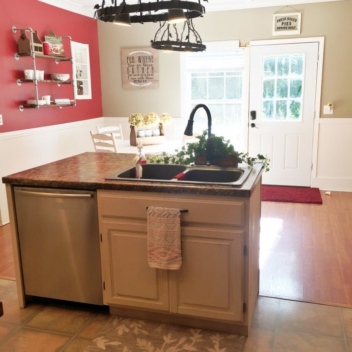 How To Renovate Your Kitchen For Under 600 Chalk Paint Countertops How To