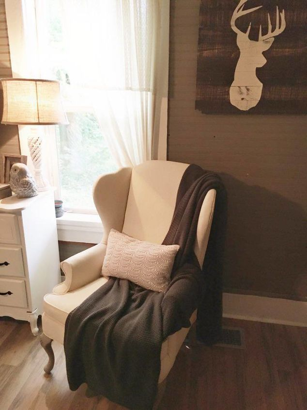 Chalk Painting A Wingback Chair Hometalk