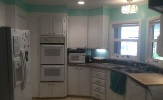 kitchen before and after, kitchen design, painting