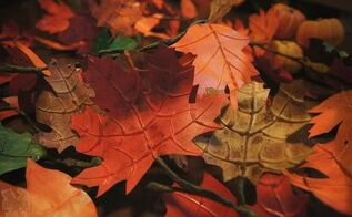 how to make autumn leaves , crafts, how to, seasonal holiday decor